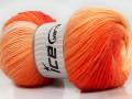 Magic baby - oranžovobílé odstíny