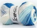 Magic Blitz - modrobílé odstíny