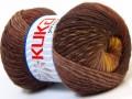 Magic wool de luxe - hnědožluté odstíny