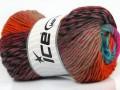Marvelous čistá vlna - oranžovovelbloudífuchsiovotyrkysová