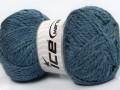 Maya Alpaka - jeansově modrá