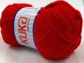 Merino bulky - červená