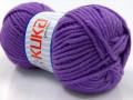 Merino bulky - fialová