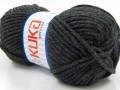 Merino bulky - tmavě šedá