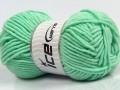 Merino chunky - mátově zelená