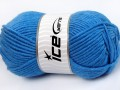 Merino chunky - modrá