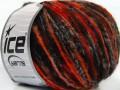 Merino extrafajn colors - černohnědooranžová
