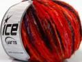 Merino extrafajn colors - červenooranžovovínovopurpurová