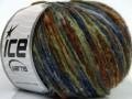 Merino extrafajn colors - námořnickozelenohnědá