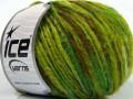 Merino extrafajn colors - zelenohnědé odstíny