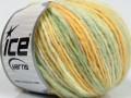 Merino extrafajn colors - zelenožluté odstíny