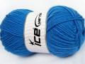 Merino gold - modrá 2
