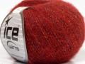 Merinobavlna extrafajn - tmavě červená