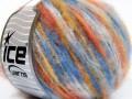Mohér color light - modrooranžovozlatá