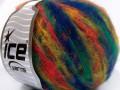 Mohér color light - ttmavěmodrozlatozelenolososová