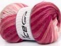 Mohér magic - růžovobílé odstíny