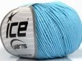 Organická dětská bavlna - dětská modrá