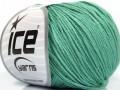 Organická dětská bavlna - smaragdově zelená