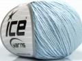 Organická dětská bavlna - světle modrá
