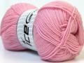 Panenská vlna de luxe  - světle růžová
