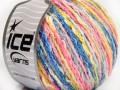 Pastelová bavlna - modrorůžové odstíny