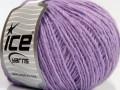 Peru alpaka light - světle fialová 1