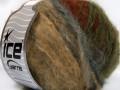 Piumotto mohér - velbloudíbéžovokrémovohnědokhakiměděná