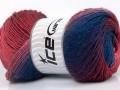 Primadonna - modropurpurovorůžové odstíny