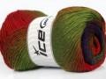 Primadonna - zelenočervenopurpurovohnědovelbloudí