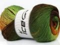 Primadonna - zelenohnědé odstíny
