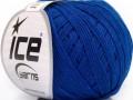 Přírodní baby bavlna - modrá 1