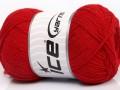 Přírodní bavlna air - červená