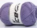 Přírodní bavlna air - fialová