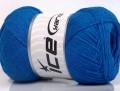 Přírodní bavlna air - královská modrá
