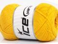 Přírodní bavlna air - žlutá