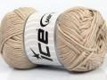 Přírodní bavlna - béžová 1