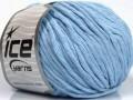 Přírodní bavlna bulky - dětská modrá
