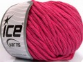 Přírodní bavlna bulky - fuchsiová