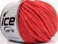 Přírodní bavlna bulky - lososová 1