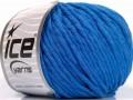 Přírodní bavlna bulky - modrá