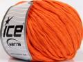 Přírodní bavlna bulky - oranžová