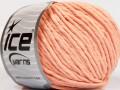 Přírodní bavlna bulky - světle lososová