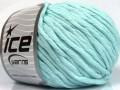 Přírodní bavlna bulky - světle tyrkysová