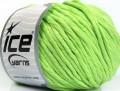 Přírodní bavlna bulky - světle zelená
