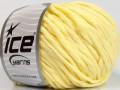 Přírodní bavlna bulky - světle žlutá
