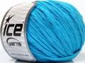 Přírodní bavlna bulky - tyrkysová