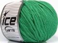Přírodní bavlna bulky - zelená