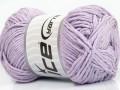 Přírodní bavlna - fialová