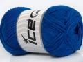 Přírodní bavlna - královská modrá