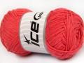 Přírodní bavlna - lososová 2